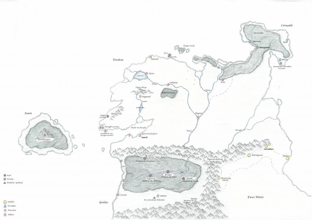 Karte Wandlerin II