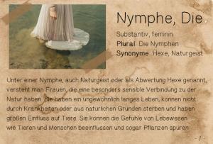 nymphe,die